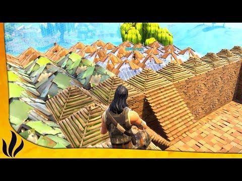 NOTRE CONSTRUCTION PREND TOUTE LA ZONE FINALE ! (Fortnite: Battle Royale)