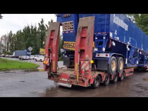 Негабарит Перевозка оборудования в Сургут. ТК Радиус