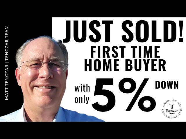 Success Story: First Time Home Buyer with only 5% down!