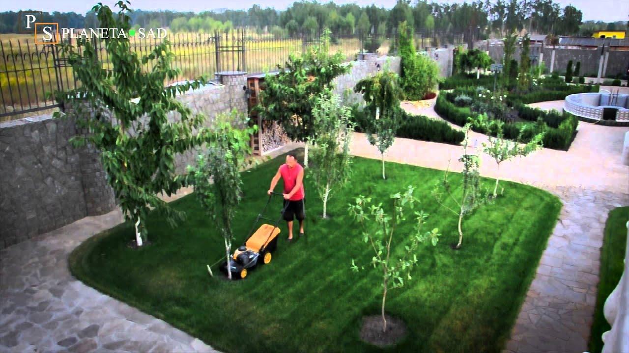 Как правильно косить газон