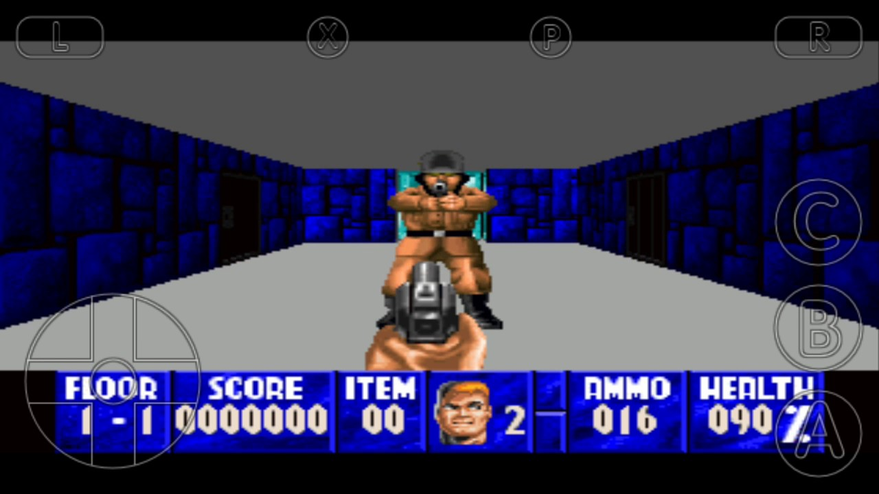 Best Version Of Wolfenstein 3D On Android - On Real3DOPlayer Emulator