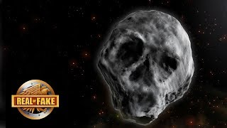 SKULL FACE ASTEROID HEADED FOR EARTH!  - real or fake?