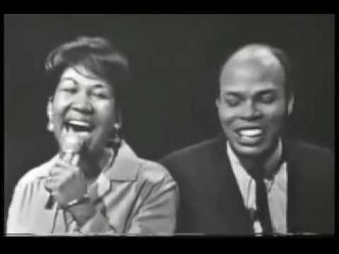 "Aretha Franklin with Ray Johnson ""Mockingbird"" with Lyrics 03,10,1965"