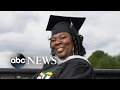 Special graduation for 53-year-old mother