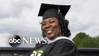 Special graduation for 53 year old mother