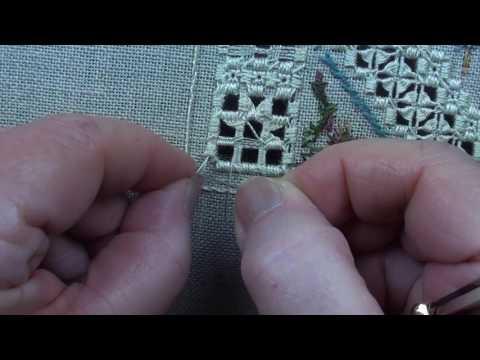 05 Stitching Under the Oaks Blanket Flower