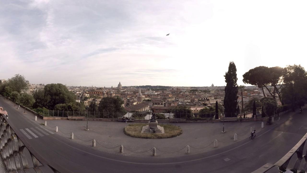 360 Video Terrazza Viale Del Belvedere Rome Italy