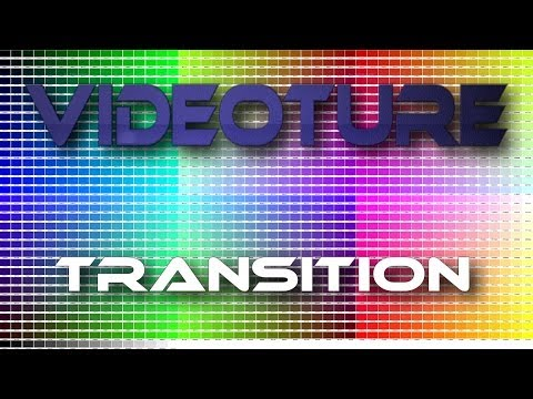 Gradient Horizontal Bars Transition: Videoture Sample