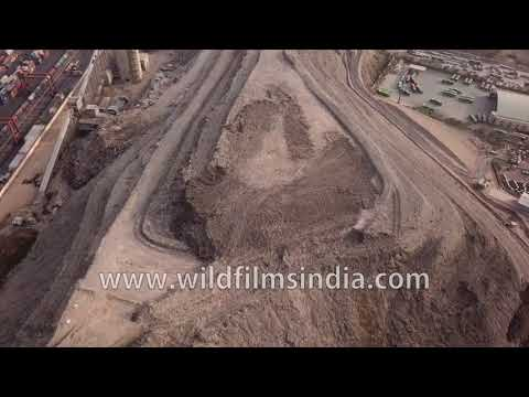 Garbage dumping zone for Delhi: Okhla landfill is a trash mountain