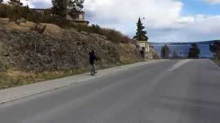 Downhill skating @ Frösön 2014