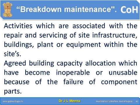Implementation of Facility Management & Safety (FMS)