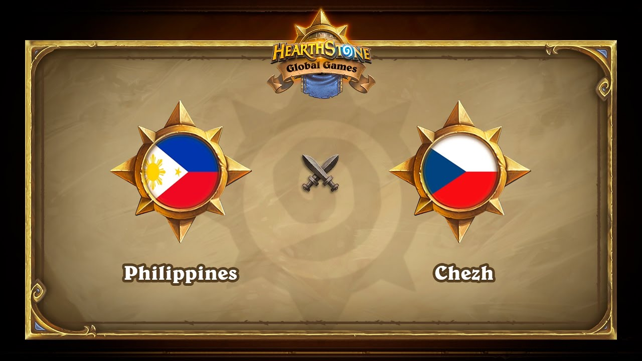 Chezh vs Philippines, Hearthstone Global Games Group Stage