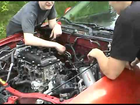 2002 nissan sentra se r spec v engine swap youtube. Black Bedroom Furniture Sets. Home Design Ideas