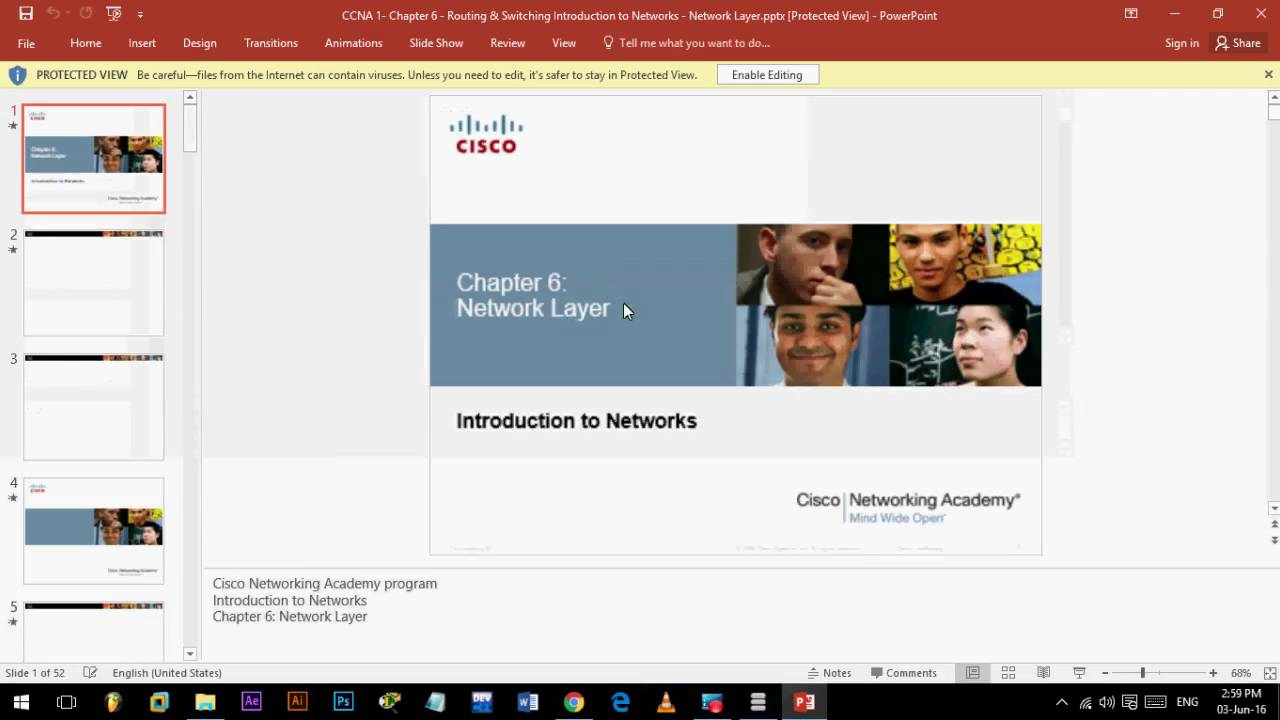 CCNA 1 Presentation - Chapter 1-11 - Routing & Switching Introduction to  Networks - Download
