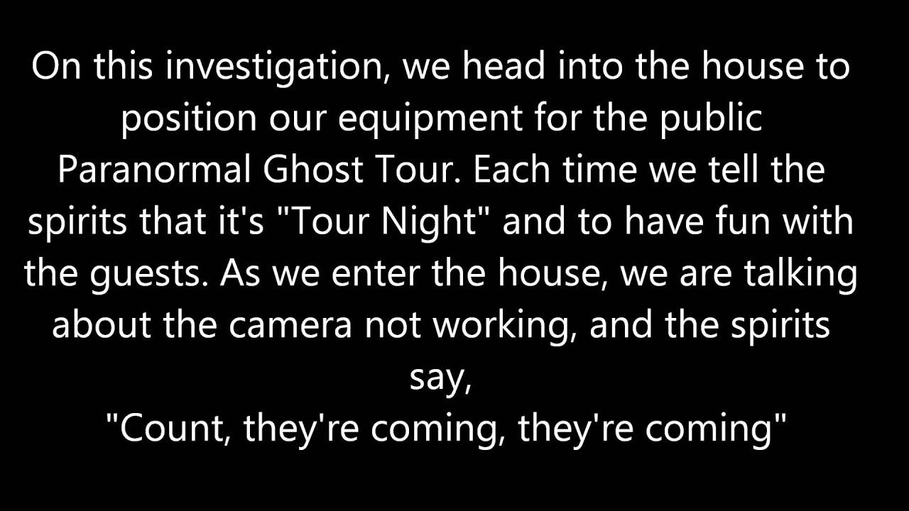 Evidence | San Diego Ghost Hunters