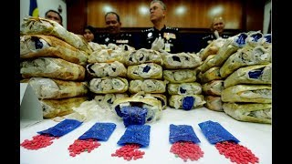 Major success for Kelantan police with seizure of 197 gunny sacks of pills worth RM23.6m