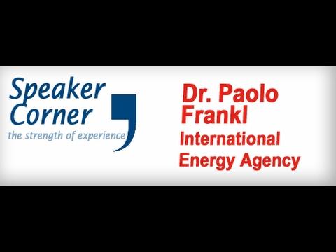 Speaker Corner: Medium – Term  Renewable Energy Market Report 2016. Dr. Paolo Frankl, January 2017