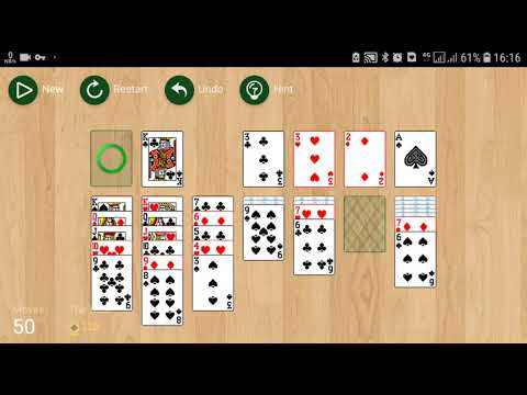 Android Game App Solitaire No Ads Free Offline