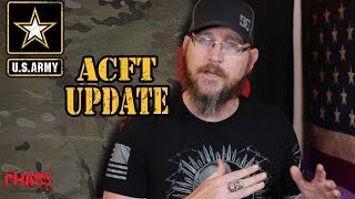 An update to the ACFT and when it takes effect