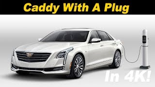 2018 Cadillac CT6 PHEV Plug In Hybrid Review and Comparison