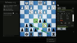 partie n 58 noirs 1 d4 cf6 2 cf3 c5 3 c3 b6