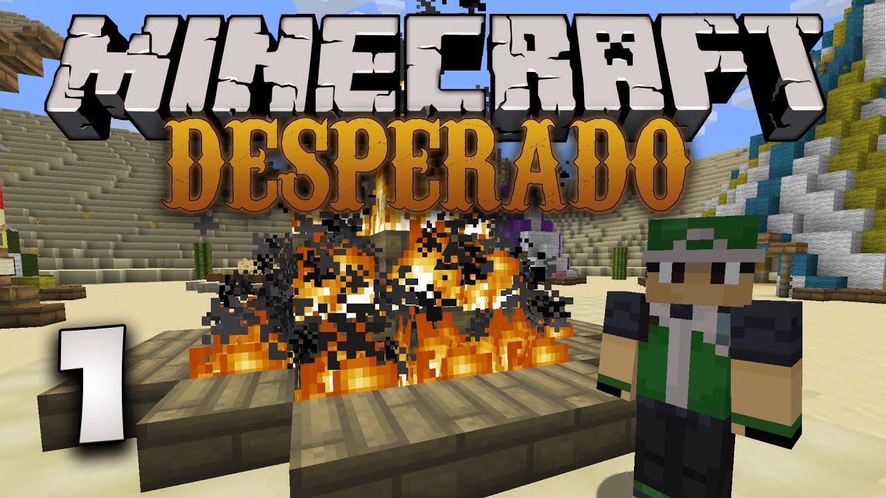 Minecraft Desperado Part The Great Train Escape Feat Cole - Minecraft desperado hauser