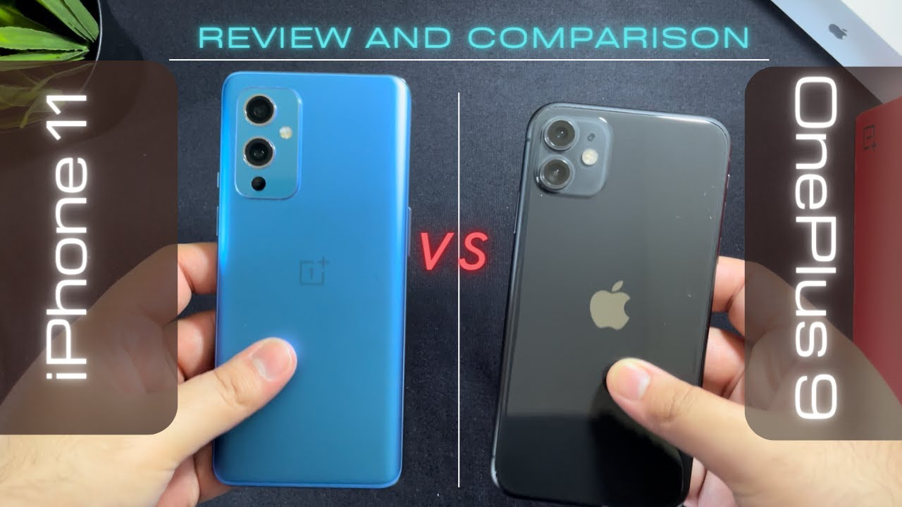 OnePlus 9 vs iPhone 11   Review and Comparison 🔥🔥
