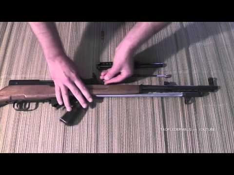 How a Gas Operated Rifle Works slow motion study
