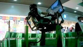 Учебный автосимулятор экстремального вождения  KBI-wrm 4  Новосибирск  Сан Сити
