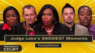 Judge Lauren Lake's SASSIEST Moments (Compilation)   Paternity Court