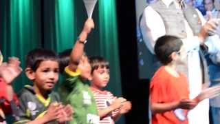 Mohammad Ifraheem performing Pakistani  Songs jeeway jeeway pakistan