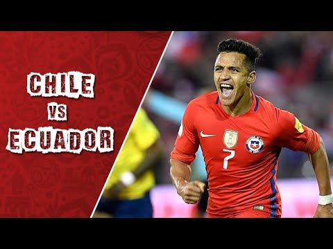 Чили - Эквадор 2:1 видео