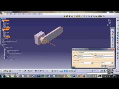 How to create animation in CATIA v5