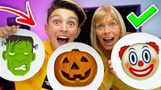 PANCAKE ART CHALLENGE!!! (Learn How to Make DIY *HALLOWEEN* Pancakes)
