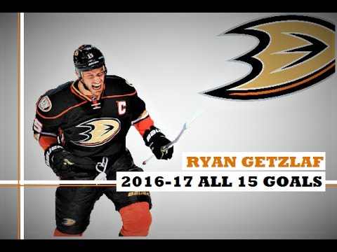 Ryan Getzlaf (#15) ● ALL 15 Goals 2016-17 Season (HD)