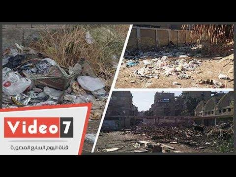 القمامة تحاصر مدرسة الزاوية الفنية بالقاهرة  - 11:22-2018 / 1 / 17
