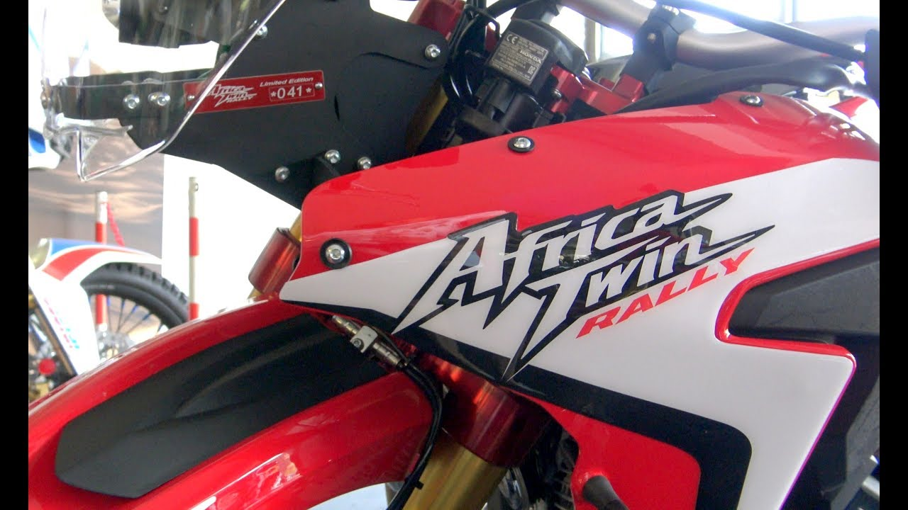 honda africa twin rally new model youtube. Black Bedroom Furniture Sets. Home Design Ideas