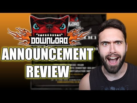 Download Festival 2019 HEADLINERS ANNOUNCEMENT Thoughts And Review