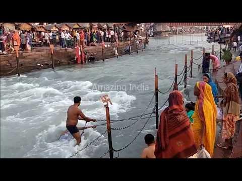 Ganga Snan Open Bath , Har Ki Pauri ,...