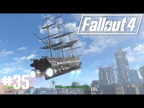 Fallout 4 - Part 35 - The Last Voyage of the U.S.S. Constitution