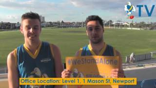 #WeStandAlone this September