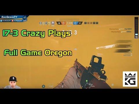 17-3 Crazy Hibana Plays | Full Game Oregon