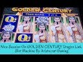 NICE SESSION ON GOLDEN CENTURY DRAGON LINK SLOT MACHINE BY ARISTOCRAT GAMING - SunFlower Slots