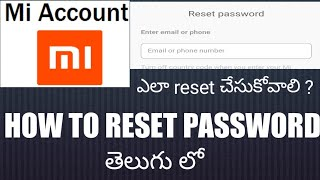 How to reset mi account password for activate device videos / InfiniTube