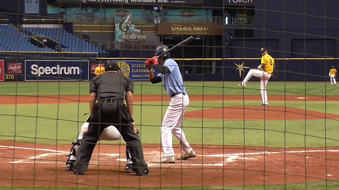 Quinn Priester (6-14-2018) at the Perfect Game National Showcase (Tampa,  FL)
