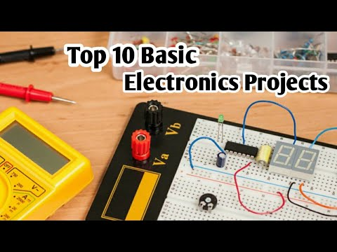 Top 10 Basic electronics projects for beginner | Arduino Projects ...
