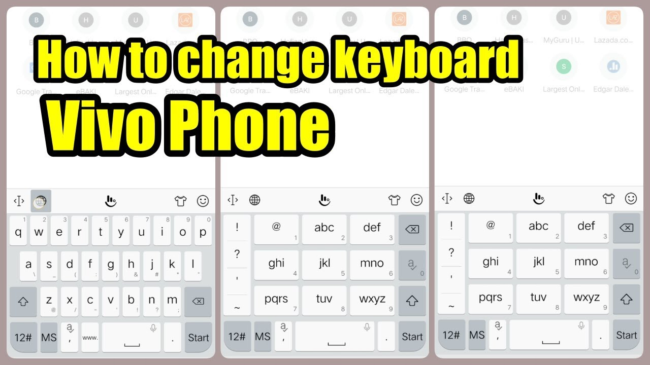 How to change keyboard layout on Vivo smartphone (new update 2018/2019)
