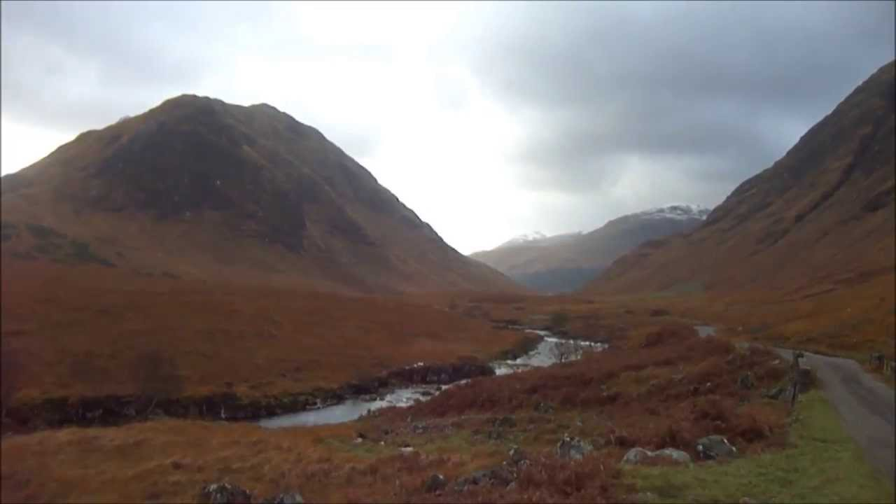 Skyfall filming location - Glen Etive (Scotland) - YouTube