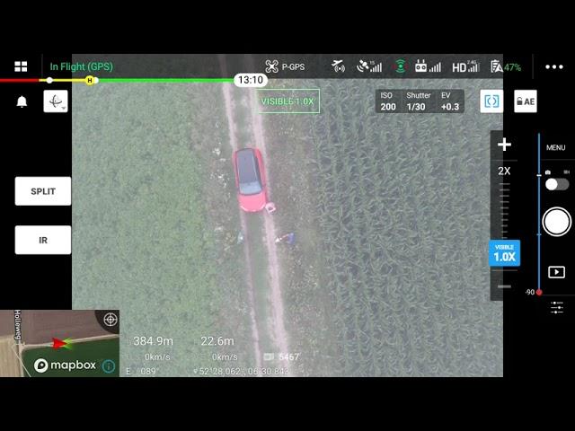 Drone vindt kalf