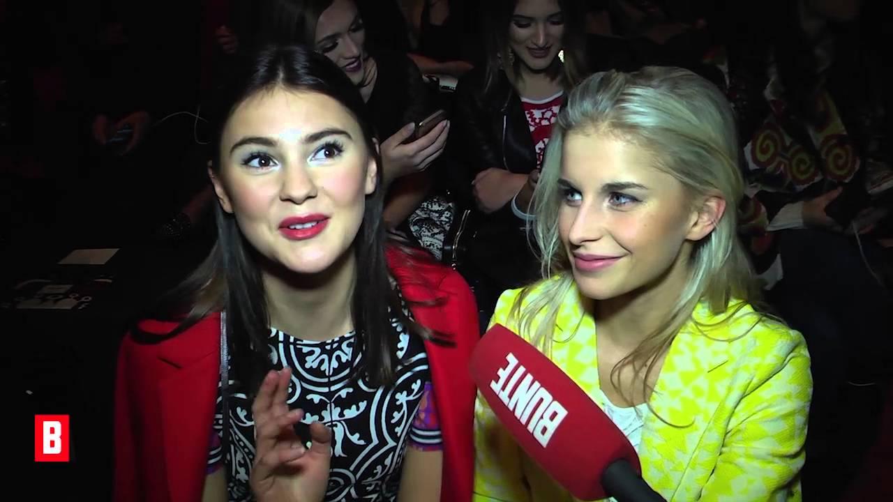 Stefanie Giesinger & Caro Daur - Geheimer Blick in ihre Handtaschen!  - BUNTE TV